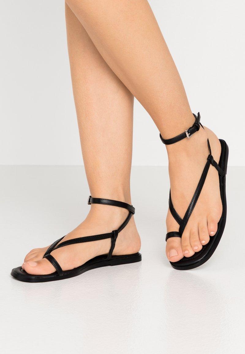 Even&Odd - T-bar sandals - black