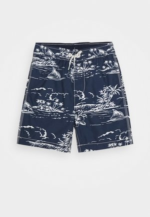 BOY ISLAND TRUNK - Swimming shorts - navy