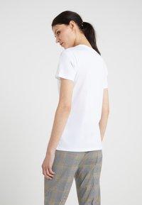 BOSS - TEGLAMOUR - T-shirt med print - white - 2