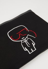 KARL LAGERFELD - IKONIK POUCH - Laptop bag - black - 2