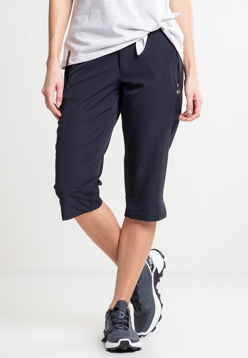 Luhta - ARVIDILA  - Outdoor shorts - dark blue