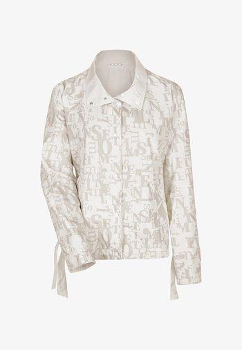 DELORA - Summer jacket - weiß/beige