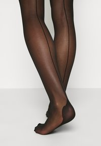 Ann Summers - PLAIN TOP SEAMED STOCKINGS BLACK - Socks - black - 3