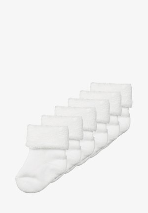 BABY BASIC 6 PACK - Calcetines - white
