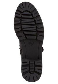 Jana - STIEFELETTE - Platform ankle boots - black - 4