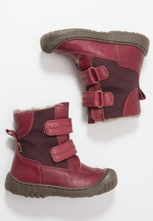 Zimní obuv - bordeaux
