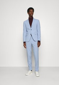 Lindbergh - PLAIN MENS SUIT - Traje - mid blue - 1