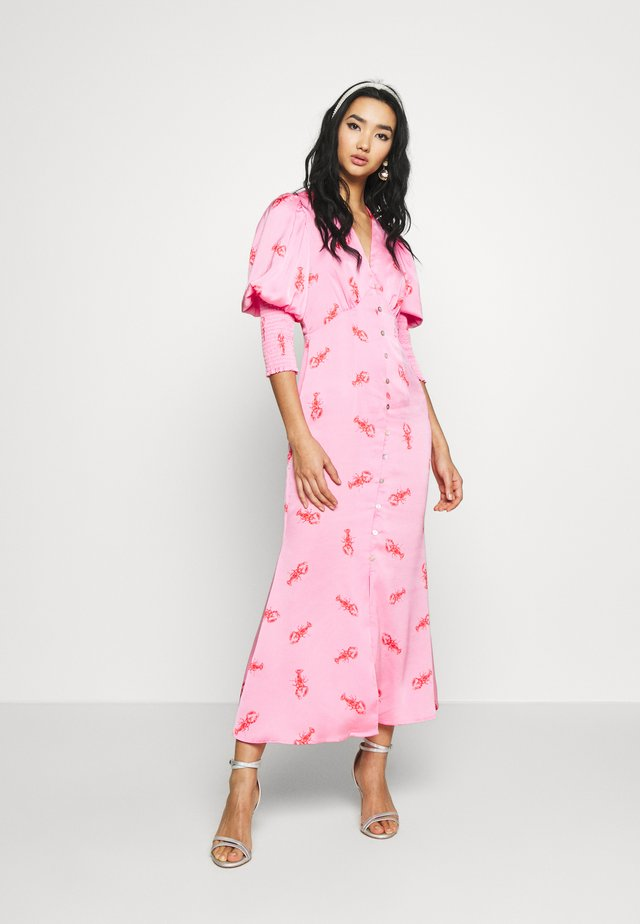 PINK LOBSTER DRESS - Vestito estivo - pink