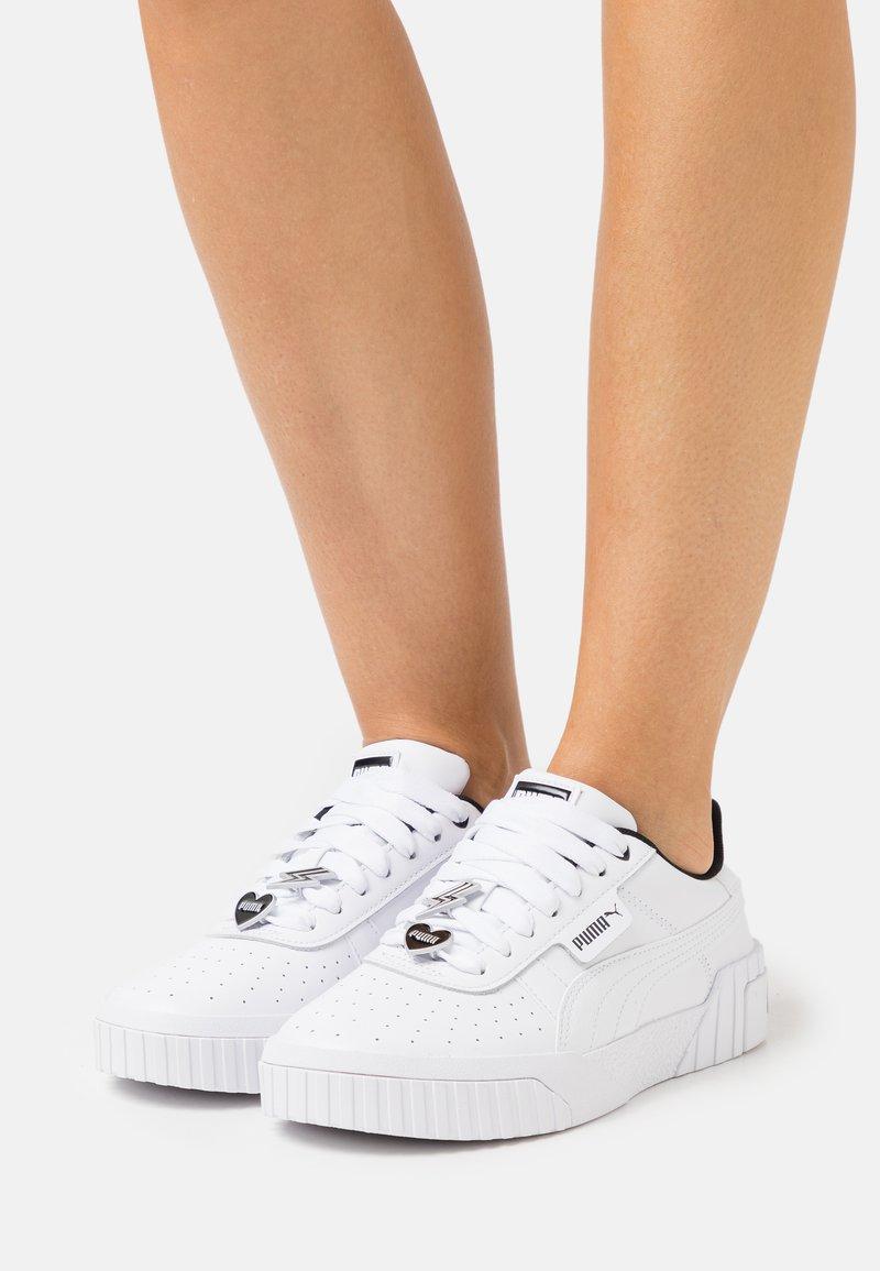 Puma - CALI GALENTINES  - Sneakers basse - white/black