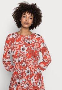 Esprit - DRESS - Day dress - orange red - 4