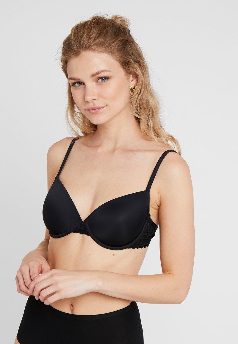 Esprit - DAILY MICRO PADDED - Underwired bra - black