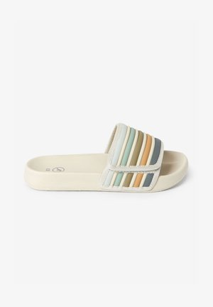TOUCH FASTENING STRIPE - Badslippers - off-white