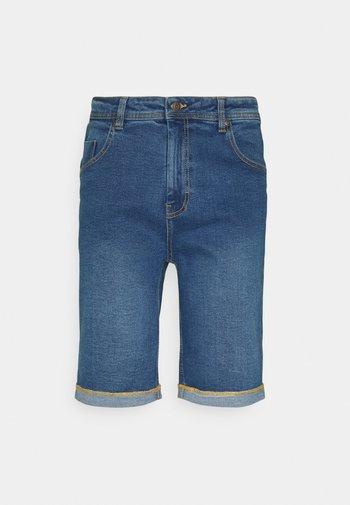 Jeansshorts - medium blue