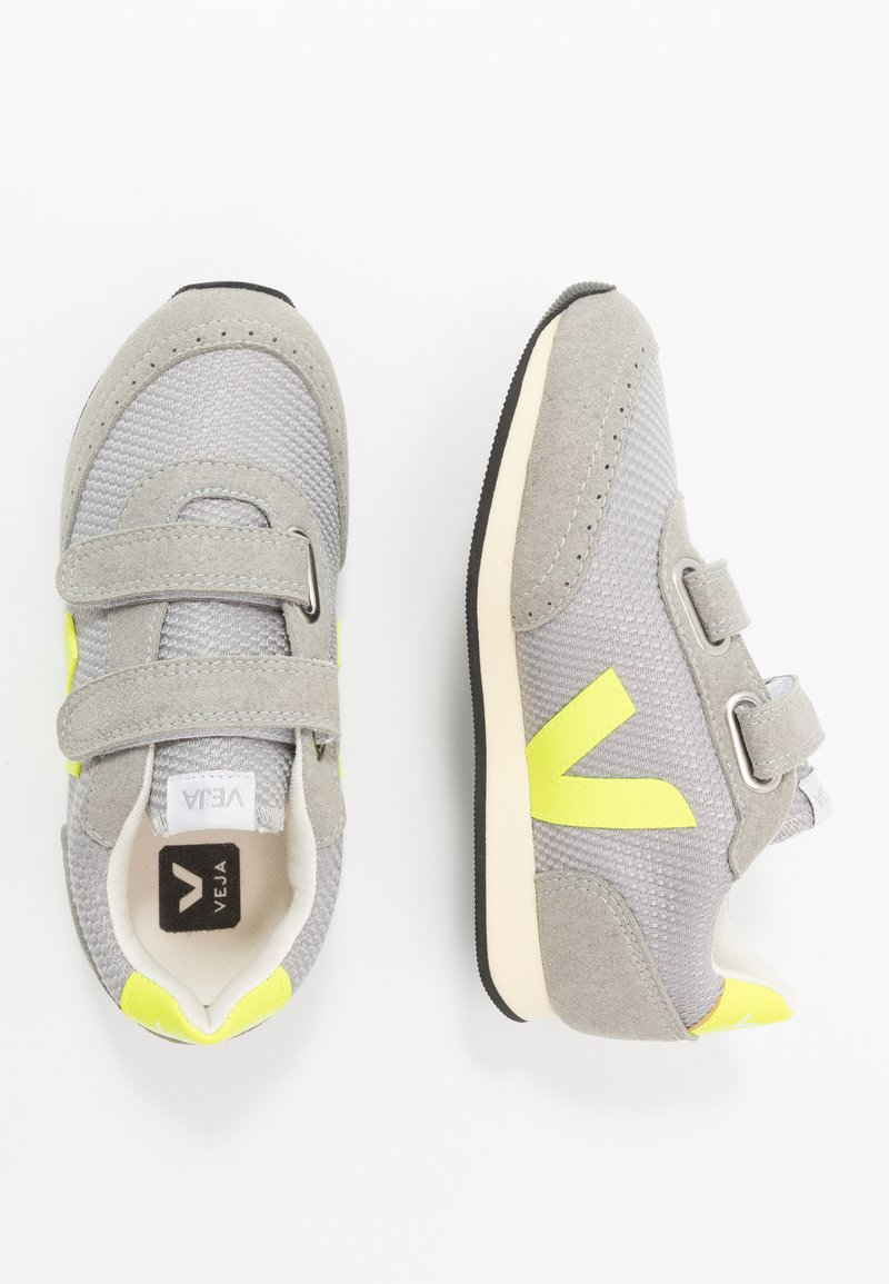 Veja - SMALL NEW ARCADE - Trainers - silver/jaune/fluo/butter