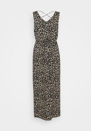 VMSIMPLY EASY TANK DRESS - Maxi dress - oatmeal/linea