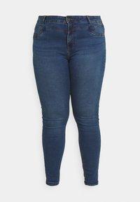 Noisy May Curve - NMCALLIE WESTERN - Jeans Skinny Fit - medium blue denim - 3