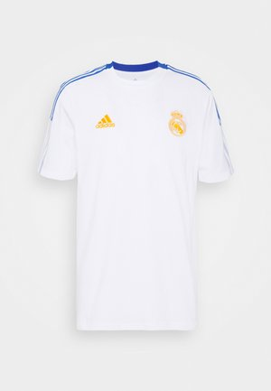 REAL MADRID TEE - Klubbkläder - white