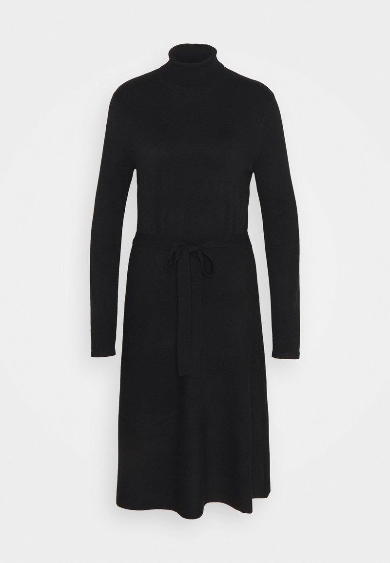 s.Oliver BLACK LABEL - Pletené šaty - true black