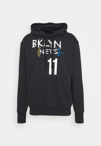 NBA BROOKLYN NETS KYRIE IRVING CITY EDITION ESSENTIAL HOODIE - Club wear - black/rush blue