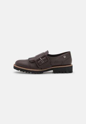 Loaferit/pistokkaat - brown