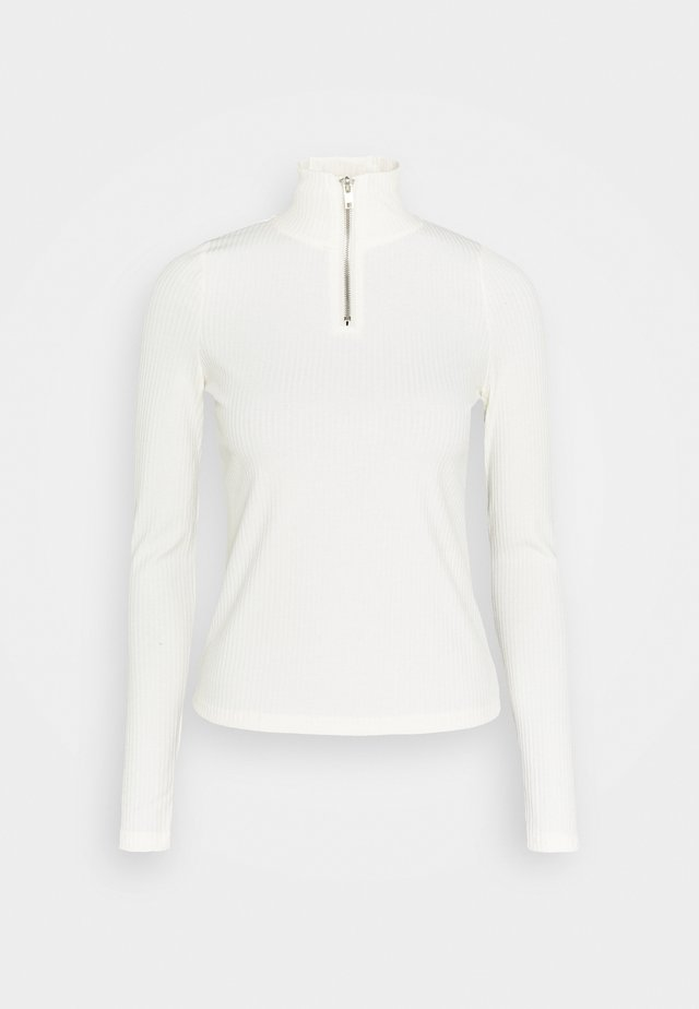 VMRACHE HIGHNECK - Topper langermet - snow white