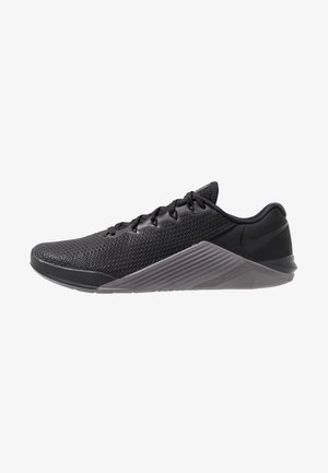 METCON 5 - Sports shoes - black/gunsmoke