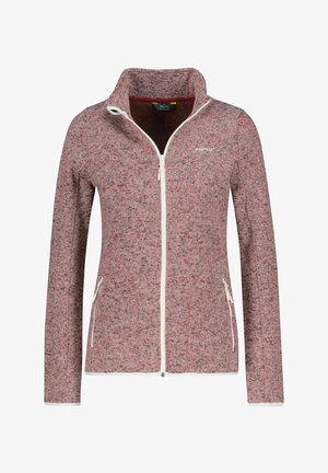 BERGEN - Fleece jacket - rost mel