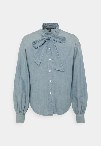FRAEDYN-LONG SLEEVE - Button-down blouse - lepore wash