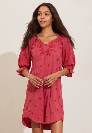 KATE - Day dress - pink fudge