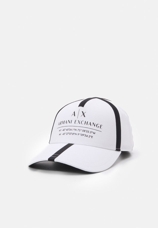 MICRO TAPE LOGO BASEBALL UNISEX - Cap - white