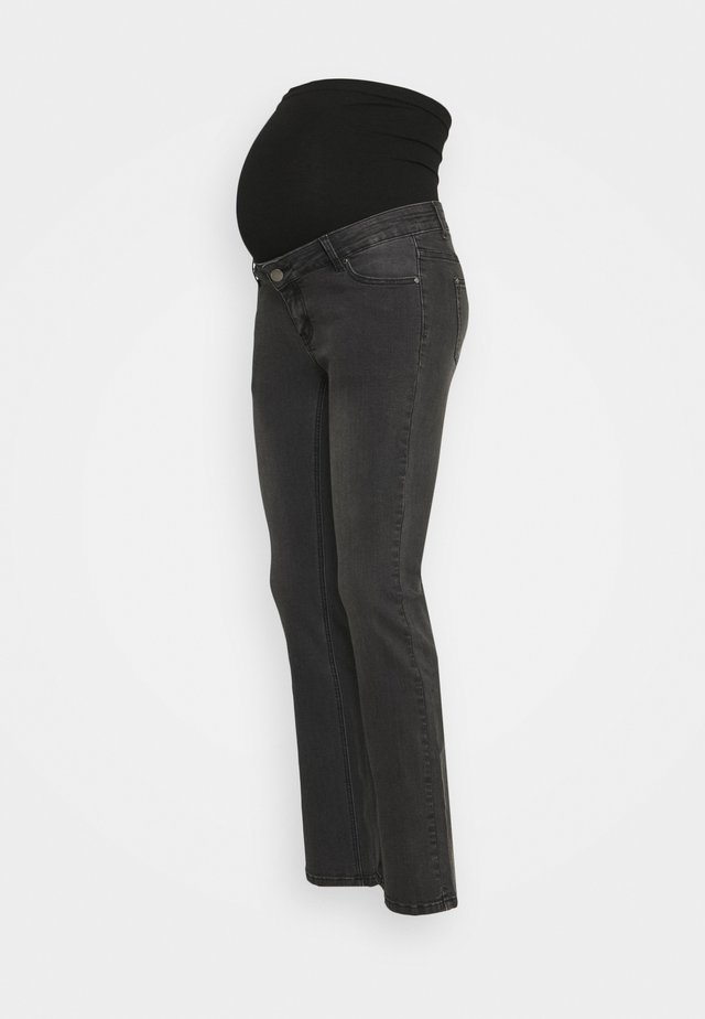 SLIM FLARE - Jeans bootcut - black