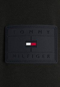 Tommy Hilfiger - MIXED MEDIA ZIP HOODY - Light jacket - black - 5