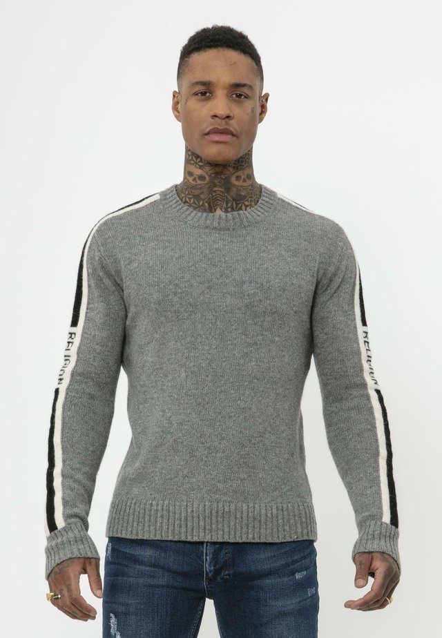 Jumper - grey/black