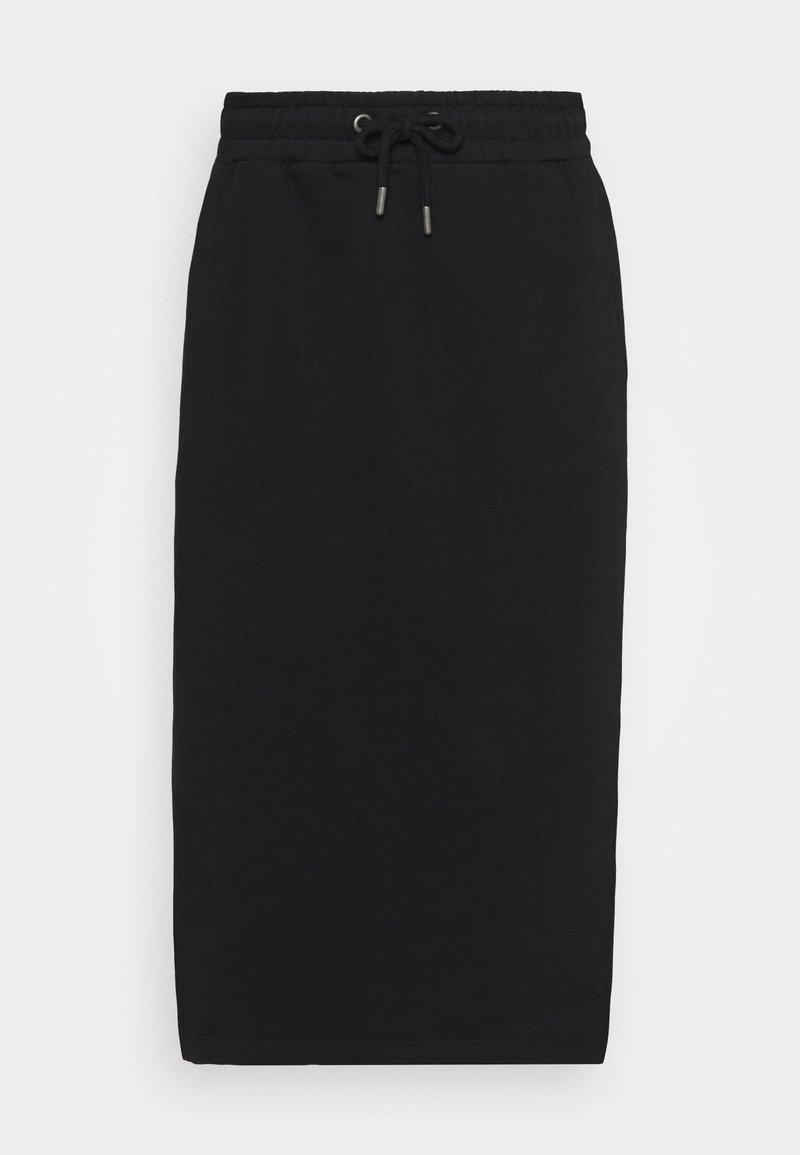 Selected Femme - SLFRISMA MIDI SKIRT - Pencil skirt - black