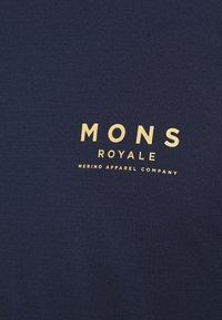 Mons Royale - ICON - Top sdlouhým rukávem - navy - 5