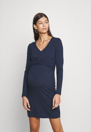 MLMACY JUNE DRESS - Jersey dress - navy blazer