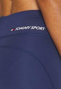 Tommy Sport - BUTT LIFT LEGGING - Legging - blue - 5