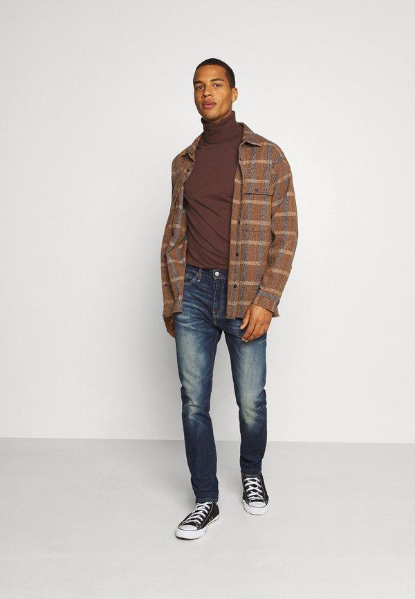 Levi's® 510™ SKINNY - Jeansy Slim Fit - med indigo/ciemnoniebieski Odzież Męska WQNZ