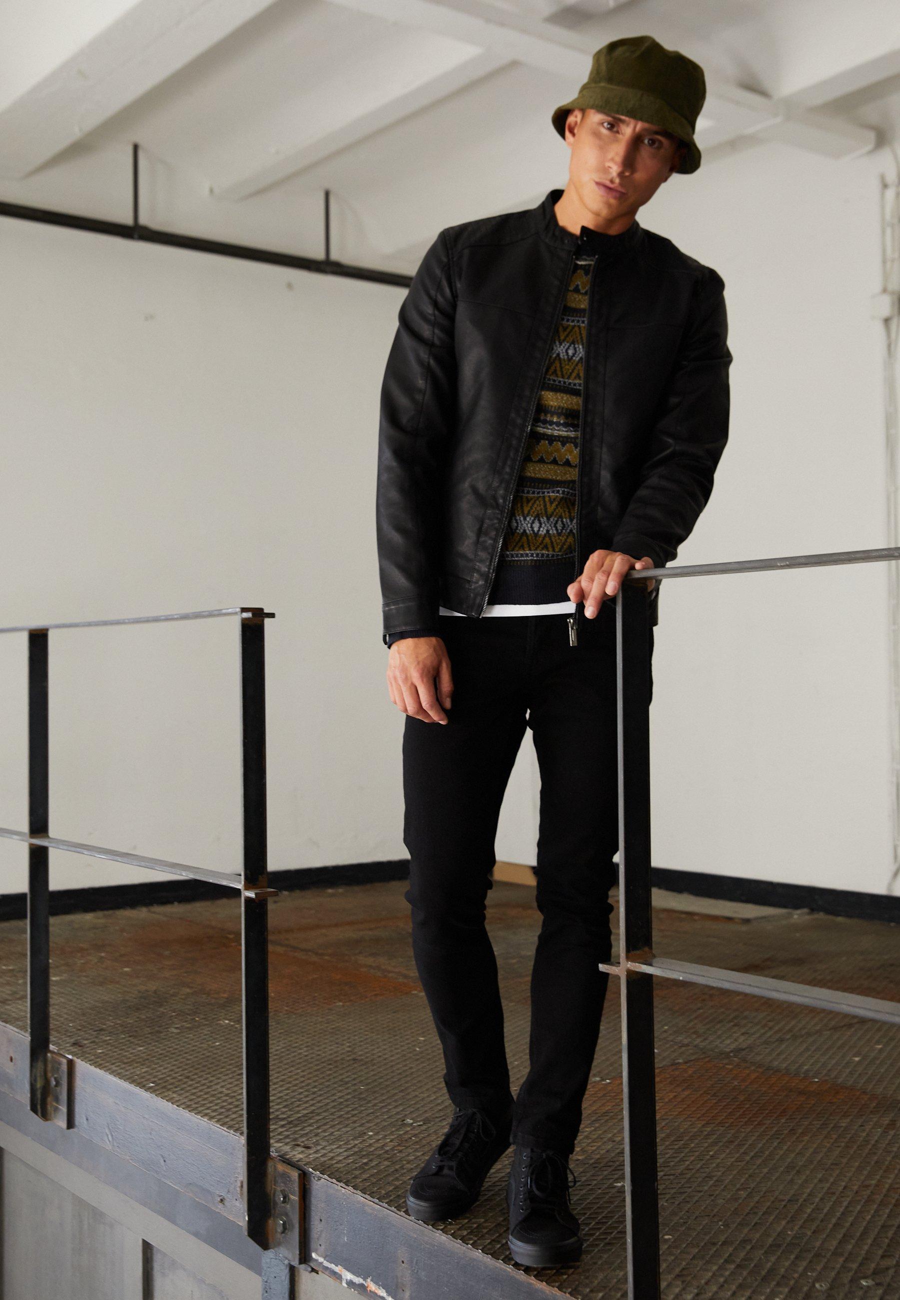 Men ONSLOOM BLACK - Slim fit jeans