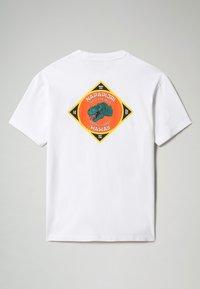 Napapijri - S-ALHOA - T-shirt med print - white graph l - 6