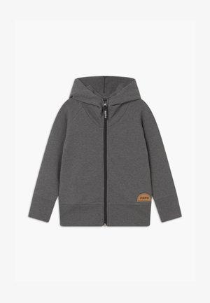 ZIP HOODIE UNISEX - veste en sweat zippée - grey