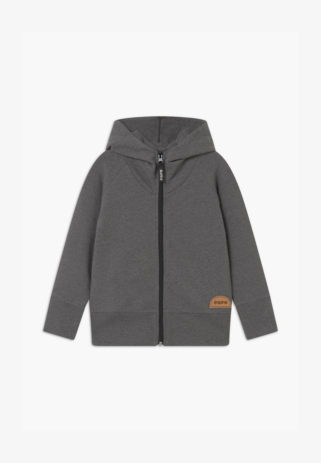 ZIP HOODIE UNISEX - Zip-up hoodie - grey