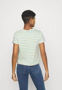 Levi's® - SURF TEE - Basic T-shirt - blue topaz - 2