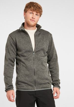 PISTE FULL ZIP  - Fleece jacket - lava stone