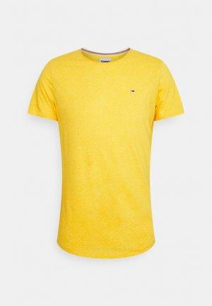 SLIM JASPE C NECK - Basic T-shirt - pollen