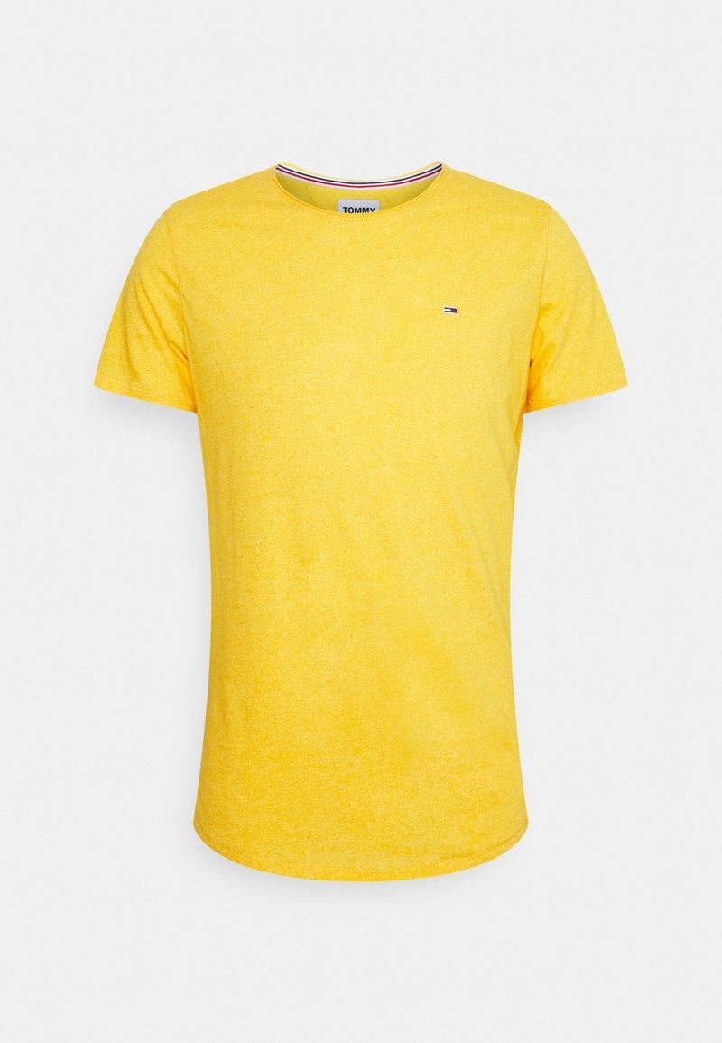 Tommy Jeans - JASPE NECK - Basic T-shirt - pollen