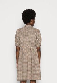 Love Copenhagen - CULLA DRESS - Day dress - brown check - 2