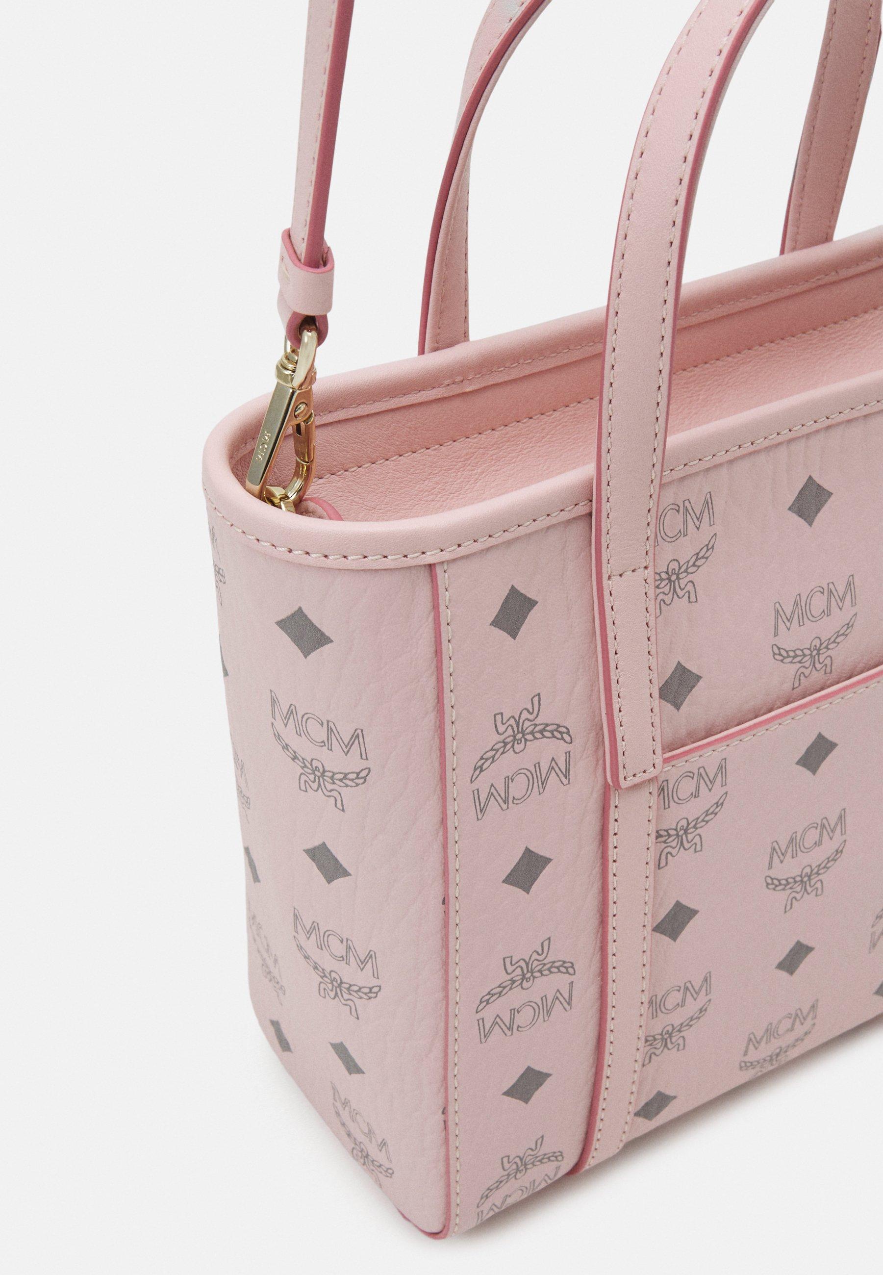 Mcm Toni Visetos - Handtasche Powder Pink/pink