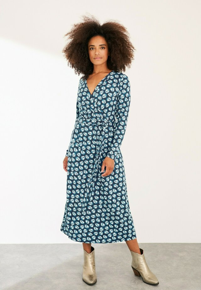 FELICITY - Maxi dress - marineblau multi