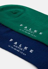 FALKE - AIRPNUTCBUNDLE 2 PACK - Socks - dark blue/green - 1